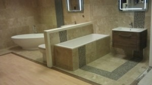 Original Bathroom Tile Design in Southampto